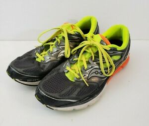 Saucony Hurricane Iso Fit Mens Gray Running Athletic Shoes Size 11 s20259 1