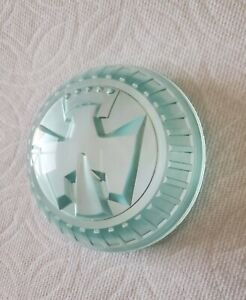1950 Chevrolet Butterfly Steering Wheel Center Cap Tinted Green