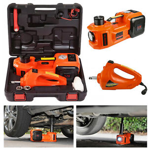 5 Ton Electric Car Jack Hydraulic Floor Jack Impact Wrench Suv Truck Tire Repair