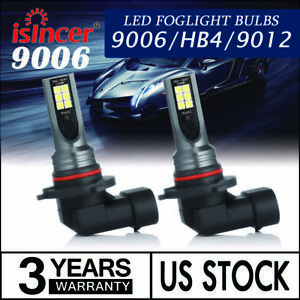 2x 9006 Hb4 9012 Led Headlight Bulbs Kit High Low Beam 6000lm White Super Bright