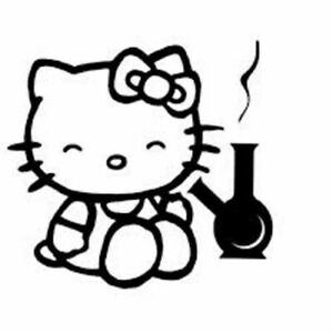 Vinyl Decal Hello Kitty High Pick Size Color Car Sticker