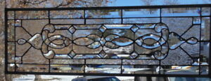 Stained Glass Transom Window Hanging 34 X 12 1 4