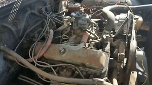 68 Catalina 400 Engine Motor Assembly With Auto Transmission Used