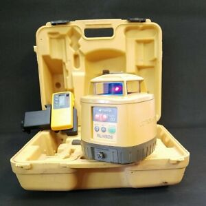 Topcon Rl h3cs Red Rotary Laser Level With Receiver Clamp 99