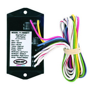Sho me Led Stop tail turn Flasher 2 Output Made In Usa