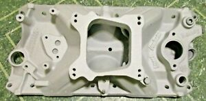 Old Holley Intake Winters Manifold Street Dominator Sbc 327 350 307 400 Chevy Gm