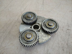 Vintage Craftsman 109 6 Lathe Headstock Spindle 3227 Geared Pulley 57 Bore