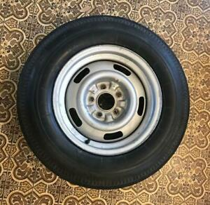 Original 1967 Corvette Rally Wheel And Firestone Blackwall 775x15 Tire
