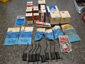 Nos Vintage Ford Assorted Parts Lot Of About 32 Brand New Parts