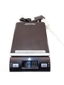 Accuteck Dreamblack 86 Lbs Digital Postal Scale W Usb Ac 8260 86 Blk Used