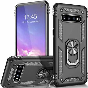 For Samsung Galaxy S10 S10E S10 Plus Case Kickstand Shockproof Hard Cover $7.95
