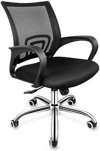 Simple Deluxe Task Office Chair Ergonomic Mesh Computer Chair W Wheels And Arms