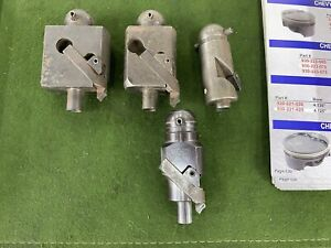 Valve Seat Cutter Bodys Sunnen 385 Pilot Added Bonus 8 Counter Bore Cutters