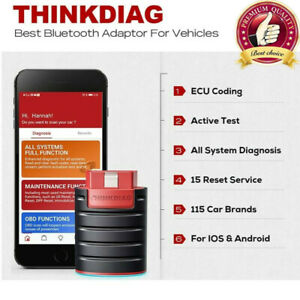 Obd2 Scanner Car Obd2 Diagnostic Tool With Free Software Demo For Thinkdiag sz