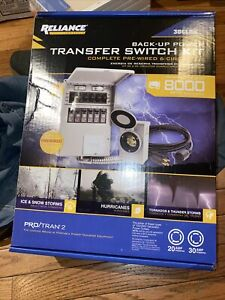 Reliance 306lrk 6 circuit Transfer Switch Kit P2
