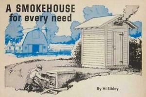 Smokehouse Smoker Meat Fish Food 1946 How to Build Plans