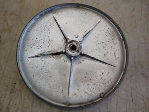 Vintage Walker Turner 10 Bandsaw Band Saw Upper Wheel Pulley 1 2 Bore
