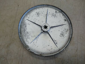 Vintage Walker Turner 10 Bandsaw Band Saw Lower Wheel Pulley 9 16 Bore
