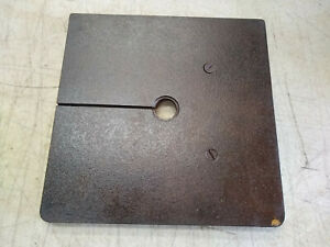 Vintage Walker Turner 10 Bandsaw Band Saw Work Table 10 X 10 Lbs 8