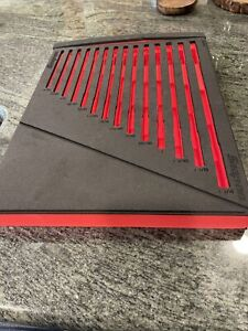 New Snap On Fmwr12br Foam Tray No Tools For 3 8 1 1 4 4 Way Wrench Set