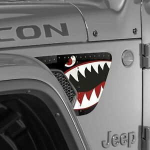 Vent Fender Wrap Graphic Sticker Decal For Jeep Wrangler Jl 2018 2020 Warhawk