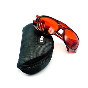 Od 4 High Quality 532nm Green Laser Protective Goggles Safety Glasses W Box