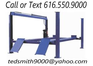 New Best Value Professional 14k 14 000 Lbs Four Post Chain Driven Auto Lift