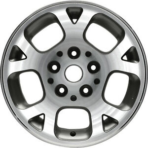 09027 Refinished Jeep Grand Cherokee 1999 2002 16 Inch Wheel Machined W Silver
