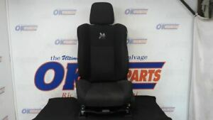 2017 Dodge Charger Scat Pack 392 Driver Left Front Power Seat Cloth Oem