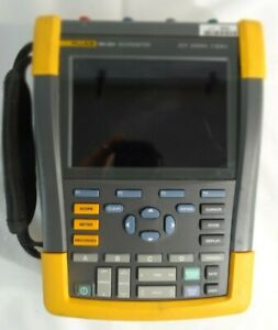 Fluke 190 204 Scopemeter 4 Channel 200mhz 2 5gs s For Parts Repair
