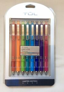 Tul Gl Series Gel Ink Pens Limited Edition Assorted Candy Ink Colors 0 7 Mm