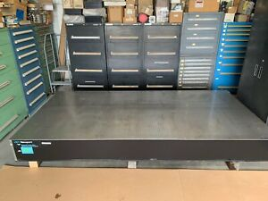 Newport Optical Table 5 X 10 X 12 Thick Comes With 4 Xl b Isolation Legs