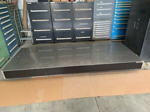 Newport Optical Table 4 X 10 X 8 Thick Comes With 4 Xl a Isolation Legs