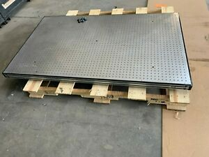 Newport Optical Table 3 X 5 3 Thick Bread Board 1 4 20 Holes In 1 Grid