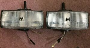 2 Rare New Nos Marchal 150 Buick Fog Light Lamps For Cars Or Small Trucks Suv