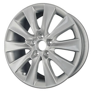 63937 Honda Accord 2005 2011 18 Inch Reconditioned Oem Wheel Rim Silver Painted