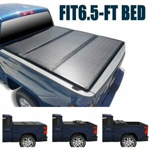 Super Drive Hard Tri fold Tonneau Cover For 1999 2017 Ford F 250 F 350 6 5ft Bed
