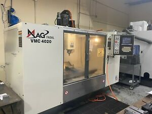 Fadal Cnc Vmc 4020 2007 Factory Remanufactured Box Way 700ipm 10 000 Rpm Spindle