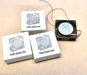 Nos Lot Of 4 Commonwealth Rotary Fan Tube Axial Fp 108ax S1 Ac 110 120v