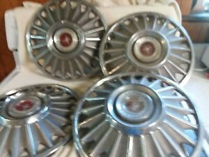 1964 65 66 67 Ford Mustang Hubcaps 14 Set Of 4 Wheel Covers 67 Hub Caps