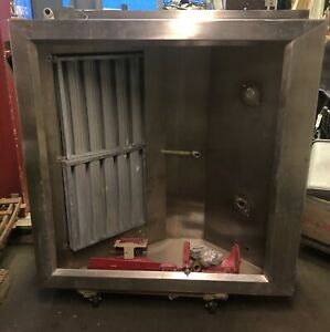 Stainless Steel Restaurant Commercial Kitchen Exhaust Hood Square 53 5 x53