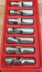Snap On Deep Swivel Wobble Socket Set Standard 6 Point