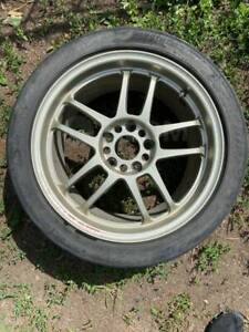 Extremely Rare Racing Hart Cp035r 17x8 5 Et40 17x9 5 Et33 5x114 3 Rx7 S2000