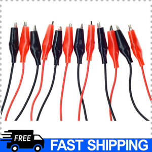 3pack Alligator Clips With Wires Test Cable