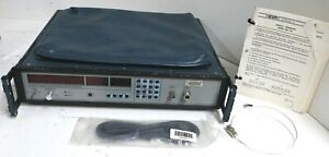 Eip Model 585 Y16 Microwave Pulse Counter With Manual