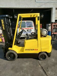 6000 Lbs Hyster Propane Forklift