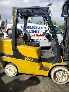 8000 Lbs Yale Propane Forklift