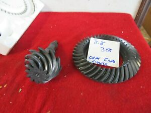 Ford 8 8 Gears 3 55 Drag Race Mustang Turbo Rearend Nmra 351w 347 Fox Oem