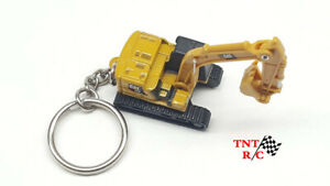 Cat Micro 320 Hydraulic Excavator Key Chain Made By Diecast Masters Free Ship