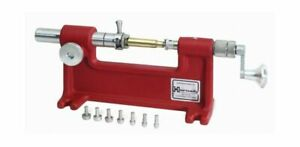 Hornady Cam Lock Case Trimmer With Pilots .001quot; Precision Steel Red 050140 $125.00
